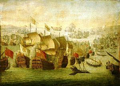 300px-Battle_of_Malaga,_1704